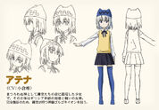 Athena's Character Design