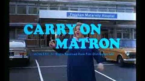 Carry On Matron - UK Trailer