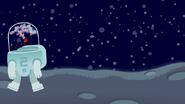 DVS1E2 Astronaut 2 walks away