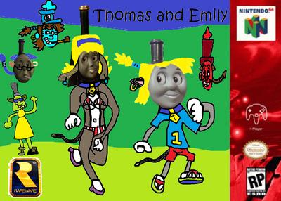 Thomas and Emily - Poster - (Xbox 360).