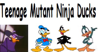 Teenage Mutant Ninja Ducks
