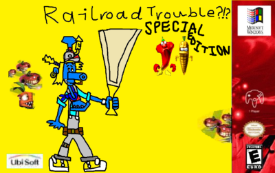 Railroad Trouble - Special Edition - PC Beta - Poster.