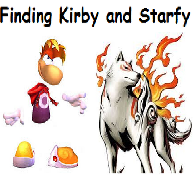 Finding Kirby and Starfy