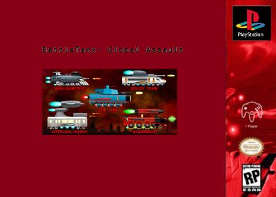 Battle Trains - Global Assault (PS1) Poster.