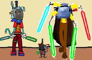 Thomas 3 (Boss Battles) - Part 10 - Thomas vs Cerberus and Hector Round 2