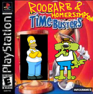 Roobarb and Homer Simpson - Time Busters.