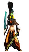 Yonah as Princess Leia.