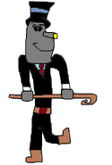 Silver Fish as Grogh's Henchman 2.