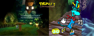 Thomas 2 - The Great Escape! - Part 3 - Thomas Regains His Full Health In The Walk Of Life To The Bayou!