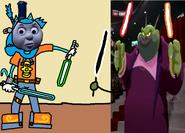Thomas 3 (Boss Battles) - Part 01 - Thomas vs Swackhammer
