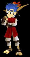 Flash Sentry as Daxter