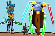 Thomas 3 (Boss Battles) - Part 11 - Thomas vs Cerberus and Hector Round 3.