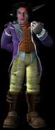 Kylo Ren as Skyhead