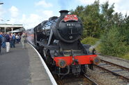 LMS 48151 at Llandudno Junction