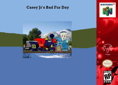 Casey Jr's Bad Fur Day - Poster.