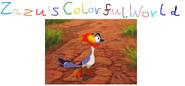Zazu's Colorful World