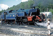 LMS 2-6-4T 42085 & Jane CR Blue LHRa 08.05.76 edited-2