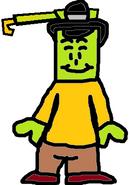 Mr. Cranky as Umber (Coloccus)
