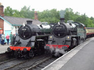 The Green Knight No. 75029 and No. 80135.