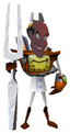 Lickboot as Dr. Nefarious Tropy