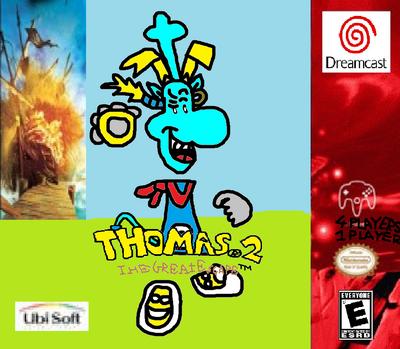 Thomas 2 - The Great Escape! - Sega Dreamcast - Poster.