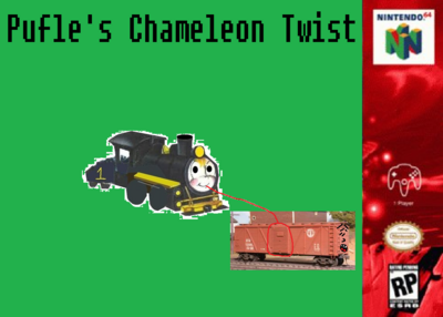 Pufle's Chameleon Twist - Poster.