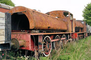 No 2879 W bagnall 0-6-0ST Caledonian Railway-L
