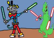 Thomas 3 (Boss Battles) - Part 08 - Thomas vs Reptar
