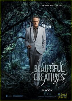 Beautiful Creatures Macon poster