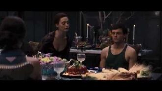 Beautiful Creatures - Lena And Ridley Argue At The Table