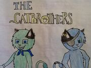 Catbrothers Poster