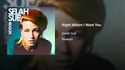 """""""Right Where I Want You"""" - Selah Sue"""