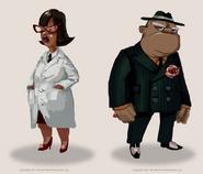 Scientist & Mobster Concept-360