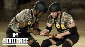 1st Elimination Pole Wrestling 🤼♂️ (Sean vs. Idris) The Challenge War of The Worlds 2