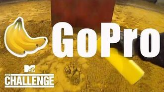 Bananas' BONUS GoPro Footage From Charge The Wall Challenge The Challenge Total Madness