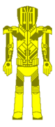 Custom Metroid Bounty Hunter Designation Yellow Jacket Shock Suit Upgrade Back View By Lord Rose Thorn