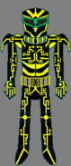 Custom Metroid Bounty Hunter Designation Yellow Jacket By Lord Rose Thorn