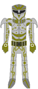 Custom Metroid Bounty Hunter Designation Yellow Jacket Stealth Upgrade By Lord Rose Thorn
