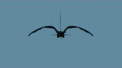 Night Fury - Test flight animation front view.