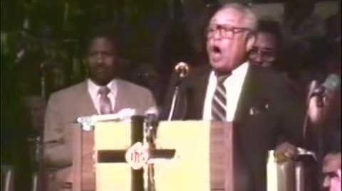 BISHOP LOUIS H. FORD PREACHES TO THE SAINTS