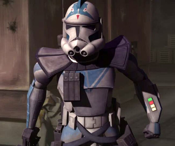 Clone Trooper Colors Question Starwars