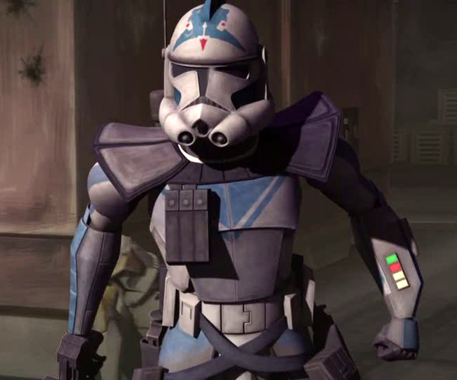 Experimental Version Of Phase II Clone Trooper Armor That Was Equipped With  Many Devices. The Armor Set Included A Kama And Pauldron For Added Defense  And ...