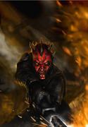 Darth Maul - The Clone Wars unseen comic