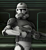 Kamino security trooper