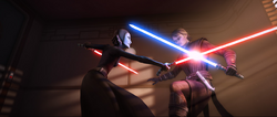 Anakin vs Barris 2 -TWJ