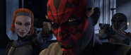 Maul betrayed by Death Watch-SOR