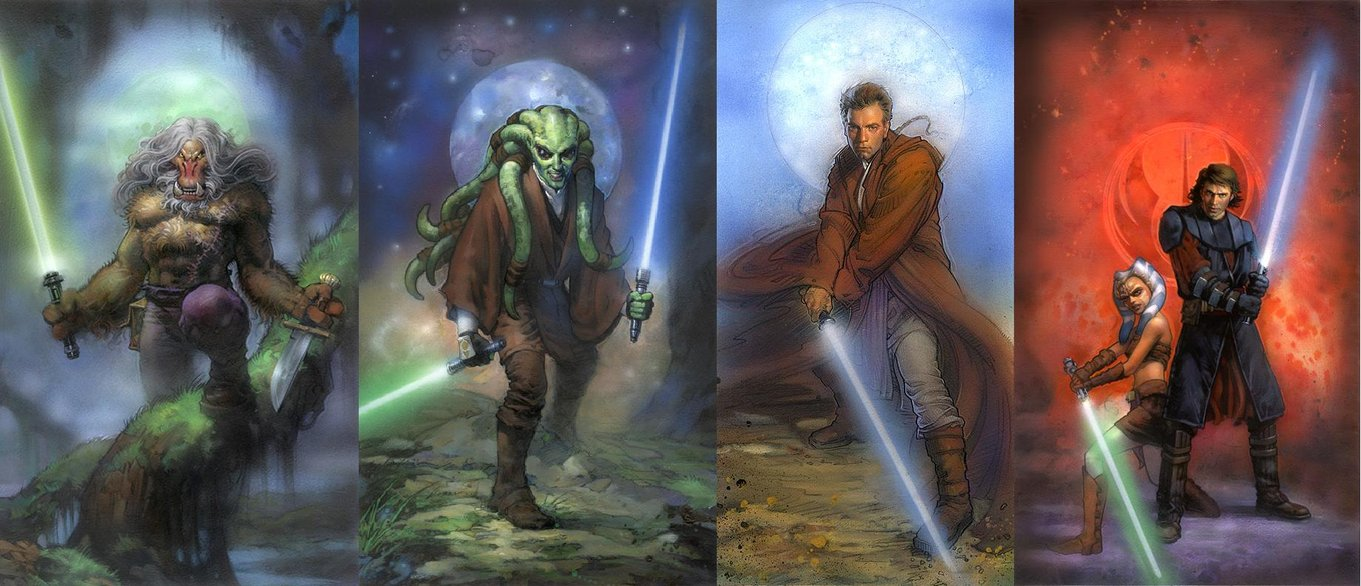 Star Wars Jedi Wallpaper By Masterbarkeep