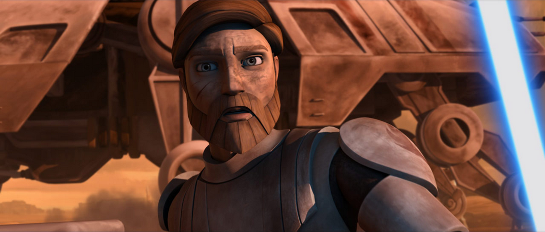 General Obi-Wan Kenobi in The Clone Wars.