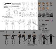 609 Crosshair full character illustration