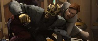 Anakin Obi-Wan tackle Savage-WOTM